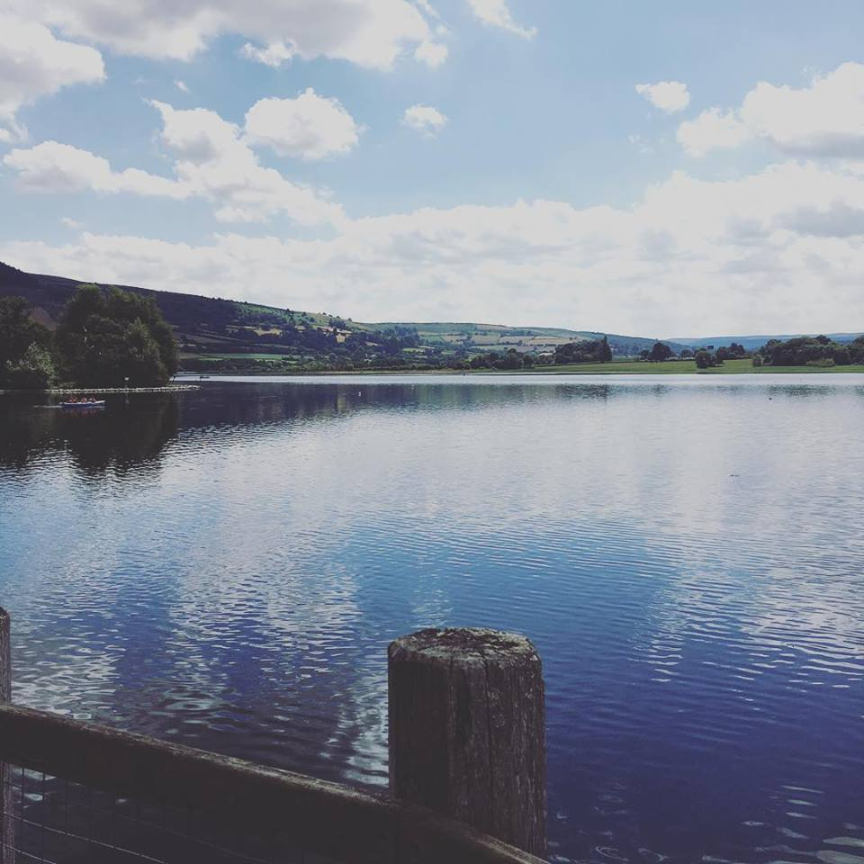 Llangorse Lake, from Adam...