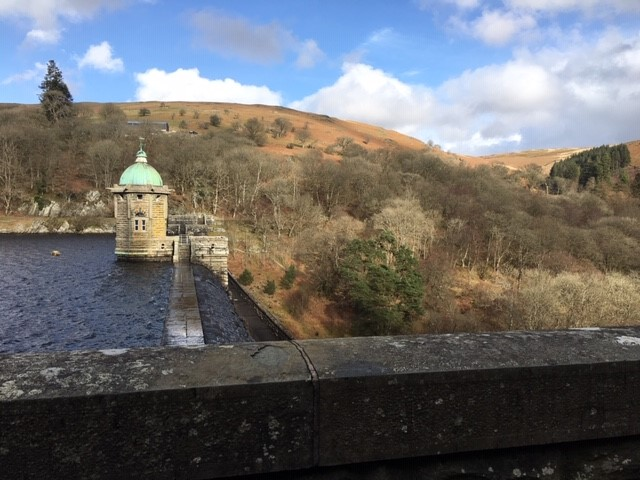 Elan Valley. The source of most of Birmingham's water. From Adam